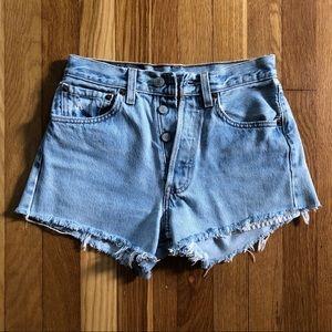 Vintage Levi's Button Fly Denim Jean Shorts